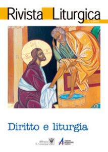 Copertina di 'Il «diritto liturgico»: significato e intepretazioni'