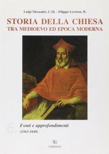 Copertina di 'Storia della Chiesa tra Medioevo ed epoca moderna'