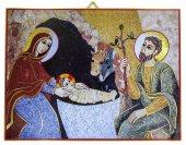 Tavola natività Padre Rupnik  stampa 10,8x14,6 cm - (Bratislava)
