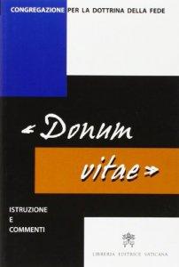 """Copertina di '""""Donum Vitae""""'"""