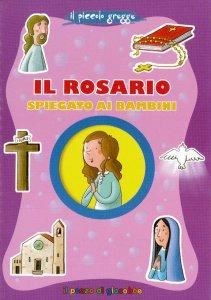 Copertina di 'Il Rosario spiegato ai bambini'