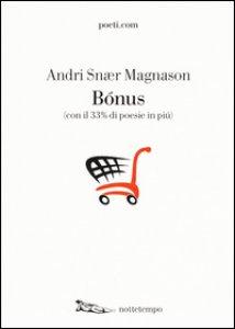 Copertina di 'Bonus (con il 33% di poesie in più)'