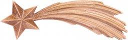 Copertina di 'Stella cometa - Demetz - Deur - Statua in legno brunito a 3 colori.  Larghezza pari a 9 cm.'