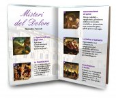 Immagine di 'Libretto con Rosario Madonna di Montenero - Italiano'
