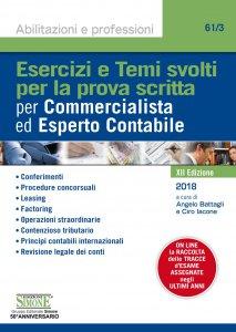 Copertina di 'Esercizi e Temi svolti per la prova scritta per Commercialista ed Esperto Contabile'