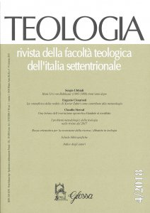 Copertina di 'Teologia, Vol. 4 - 2019'