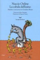 La cabala dell'asino. Asinità e conoscenza in Giordano Bruno - Ordine Nuccio