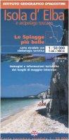 Elba e arcipelago toscano 1:50 000. Con guida turistica. Ediz. italiana e inglese