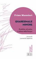 Quaresimale minore - Primo Mazzolari