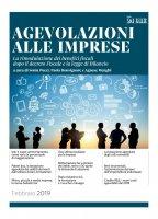 Agevolazioni alle imprese - Sonia Pucci,  Paola Bonsignore,  Agnese Menghi