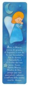 """Copertina di 'Segnalibro """"Ave Maria"""" - dimensioni 13x4 cm'"""
