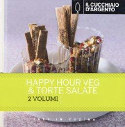Copertina di 'Il Cucchiaio d'Argento: Happy hour veg-Torte salate'