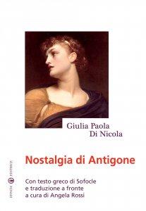 Copertina di 'Nostalgia di Antigone'