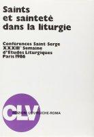Saints et sainteté dans la liturgie (Parigi, 1986)