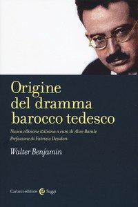 Copertina di 'Origine del dramma barocco tedesco'