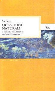 Copertina di 'Questioni naturali. Testo latino a fronte'