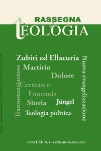 Copertina di 'Rassegna di Teologia n. 1/2020'