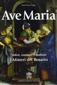 Copertina di 'Ave Maria. Vedere, conoscere e meditare i Misteri del Rosario'