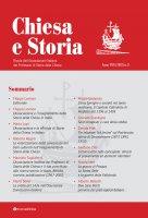 Chiesa e Storia. Rivista dell'Associazione Italiana dei Professori di Storia della Chiesa Anno VIII (2018) n. 8.
