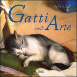 Copertina di 'I gatti nell'arte. Ediz. a colori'