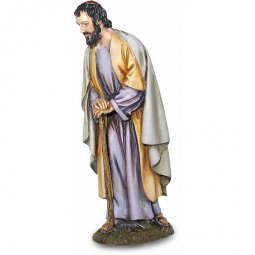 Copertina di 'San Giuseppe chinato Linea Martino Landi - presepe da 50 cm'