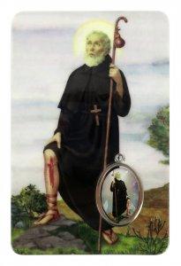 Copertina di 'Card San Pellegrino in PVC - 5,5 x 8,5 cm - italiano'