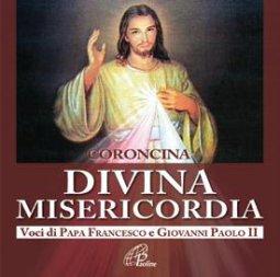 Copertina di 'Coroncina Divina Misericordia. Voci di Papa Francesco e Giovanni Paolo II'