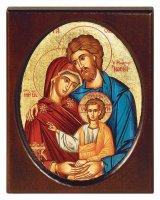 "Icona ""Santa Famiglia"" (cm 8 x 10,5)"