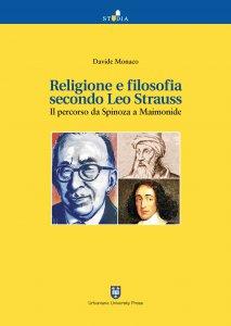 Copertina di 'Religione e filosofia secondo Leo Strauss'