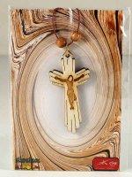 Immagine di 'Crocetta in legno con raggi - altezza 5 cm'