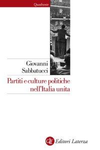 Copertina di 'Partiti e culture politiche nell'Italia unita'