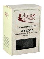 Tè aromatizzato alla rosa 50 gr.