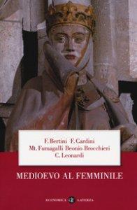 Copertina di 'Medioevo al femminile'