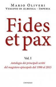 Copertina di 'Fides et pax'