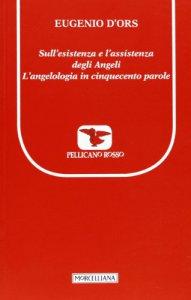 Copertina di 'Sull'esistenza e l'assistenza degli angeli'