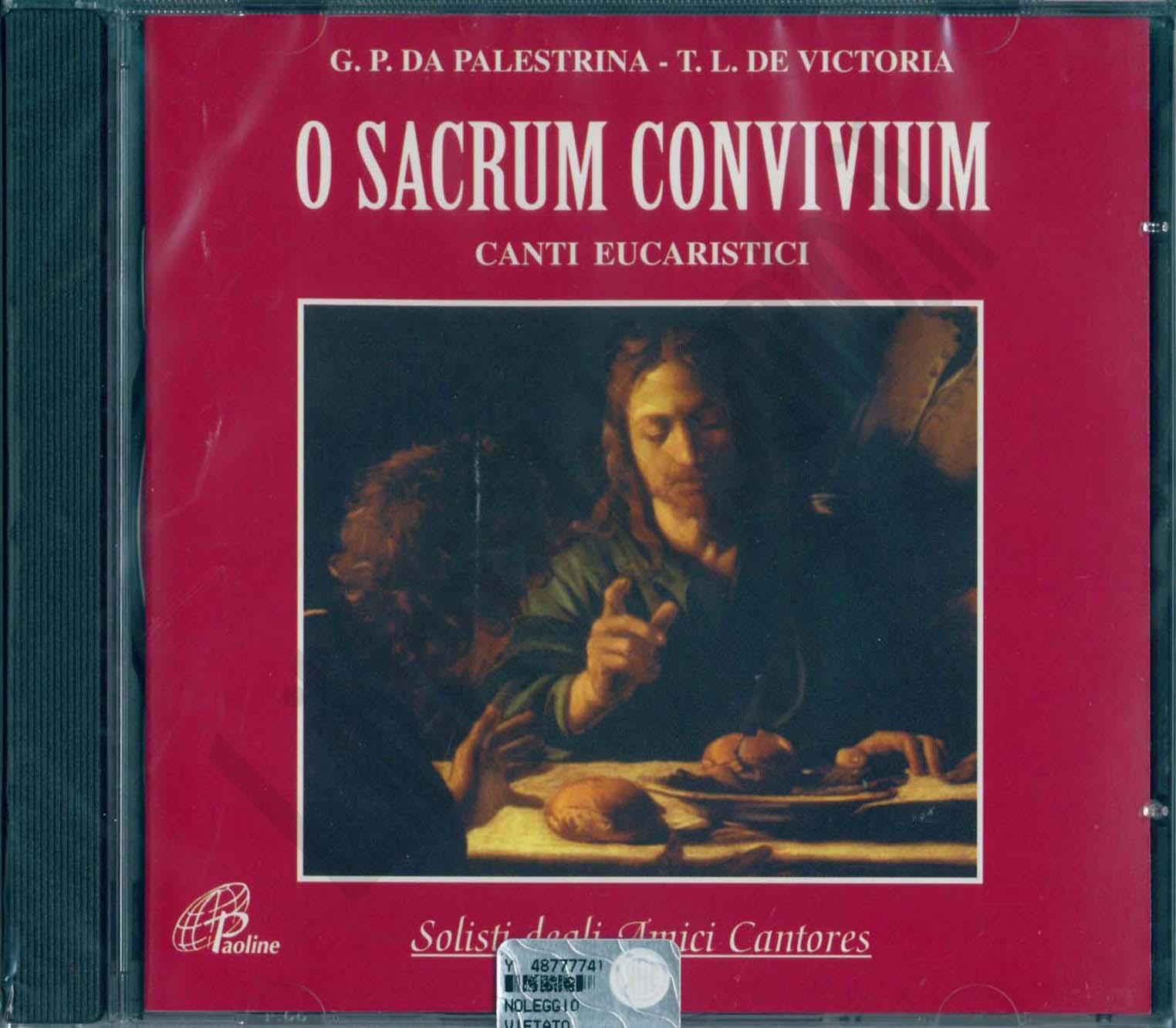 O sacrum convivium. Canti eucaristici