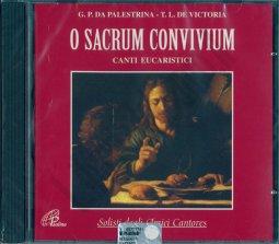 Copertina di 'O sacrum convivium. Canti eucaristici'