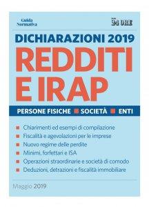 Copertina di 'Dichiarazioni 2019 Redditi e IRAP'