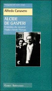 Copertina di 'Alcide De Gasperi'