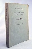 Diari, lettere, pensieri. A cura e con una traduzione di P. David Maria Turoldo - Bianchi Porro Benedetta