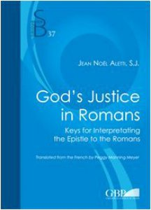 Copertina di 'God's justice in romans. Keys for interpretating the epistle to the romans'