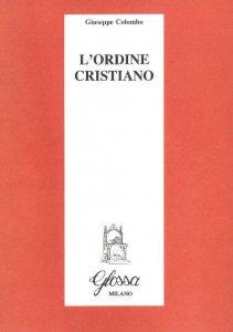 Copertina di 'L'ordine cristiano'