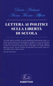 Copertina di 'Lettera ai politici sulla libertà di scuola'