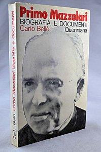 Copertina di 'Primo Mazzolari: biografia e documenti'