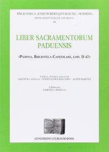 Copertina di 'Liber sacramentorum paduensis'