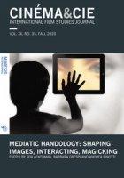 Cinéma & Cie. International film studies journal (2020)