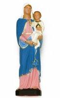 Statua Madonna con bambino in materiale infrangibile - cm 30 di  su LibreriadelSanto.it