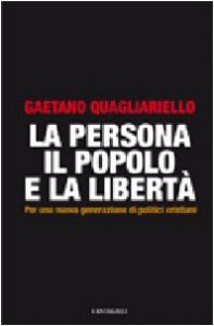 Copertina di 'La persona, il popolo e la libertà'