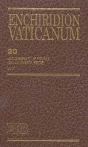 Copertina di 'Enchiridion Vaticanum. 20'