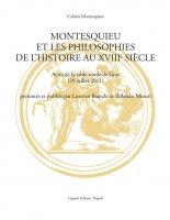Montesquieu et les philosophies de l'histoire au XVIIIe siècle - Lorenzo Bianchi, Rolando Minuti